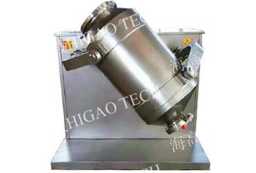 three dimensional powder mixer