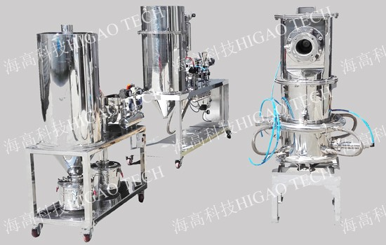 fluidized bed opposed airflow jet mill pulverizer