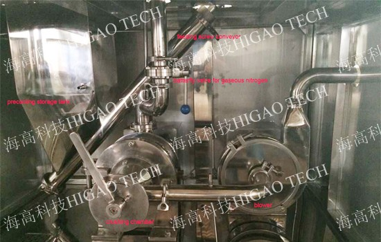 low temperature liquid nitrogen cryogenic freeze pulverizer machine