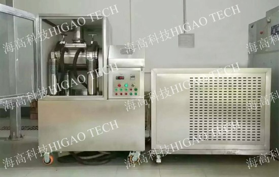 Cell disruption grinding machine